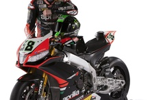 WSBK 2013 - Riders / Sylvain Guintoli #50 and Eugene Laverty #50 - Riders of the Aprilia Racing Team 2013