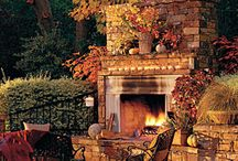 outdoor fire places