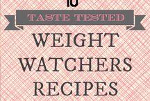 weight watcher recipes / by Sue Johnson