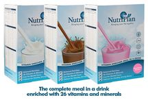 Nutri-plan / Complete meal in a drink enriched with 26 vitamins & minerals and has over 75% less sugar than other leading brands. Available in original chocolate strawberry