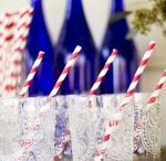 Fourth of July DIY / We all love getting into the Fourth of July spirit with red, white and blue crafts and cooking. So enjoy these patriotic independence perfections!