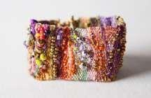 Fiber & Bead Bracelets