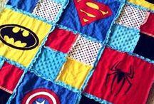 Superhero Birthday Party / Idee per un total look Superhero Party