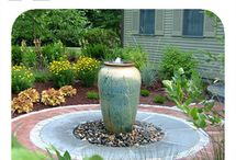 Garden Fountains / by Amber~Rae King