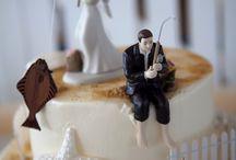 Fishing Themed Wedding Cake 2