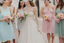 Wedding: Bridesmaids / Bridesmaid inspiration for styling the big day