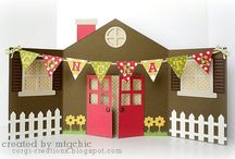 New Home card ideas / by Debbie Buckley