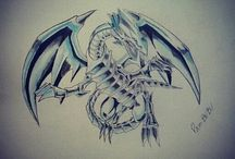 Yu-gi-oh Drawings / My drawings  bands,peoples,tolkien,colors,graffiti.