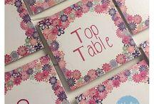 Wedding Table Numbers/Names