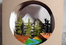 Pop up & object books / Libros pop up y 3D / Pop up books
