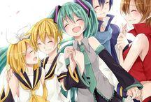 Miku and friends