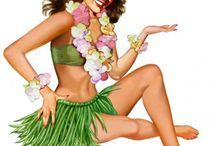 Clipart polynesie