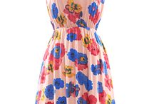 Dress patterns + inspiration