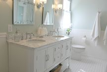 Master bath / by Erica Lawless