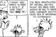 Cartoons, comics and illustrations I admire