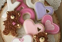 バレンタイン クッキーのアイデア