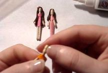 Tiny Dolls: Toothpick Dolls, Worry Dolls and Quarter Scale and Smaller Dolls / by Nicki Michelle