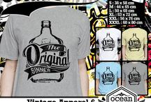 kaos tulisan unik | quote unique vintage T-shirt