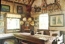 contoh meja traditional