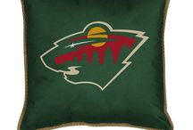 Perfect Fan Cave / Creating the perfect fan oasis. #mnwild / by State Of Hockey Store