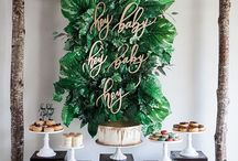 Baby Shower Decor (Boy) / What can you do to make your party special? Take a look at these boy baby shower decoration details and be inspired!