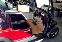 Golf Cart Floor Mats from SeaDek / by SeaDek Marine Products