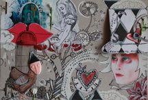 Алиса в стране чудес, в зазеркалье