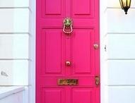 Fabulous Front Doors + Knockers