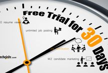 Techejobs offers great benefits for recruiters under their 30 days free trial