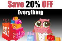 Sales! / http://girlzlyfe.com/