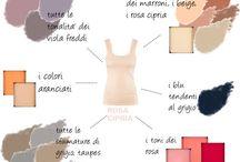 accostamento colori abiti