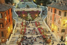 Spanish Steps in Rome / The most beautiful pictures of the famous Roman Spanish Steps on Piazza di Spagna in Rome, Italy