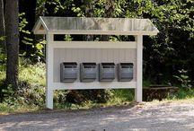 postilaatikkoteline