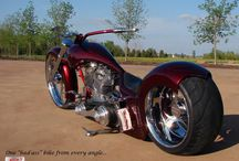 Custom harleys