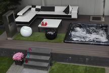 Moderne tuin / Moderne tuinen, de laatste trends voor in de tuin, sierbestrating van MBI De Steenmeesters. Terrastegels, tuintegels, terras, tuin, inspiratie, GeoSteen, GeoCeramica, keramiek, keramische tegels, betontegels, beton, tegels. Meer info: www.mbi.nl