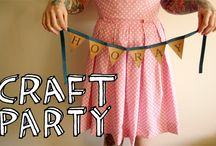 crafty party / by Samantha Bennett