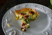 Quiche & Savory Pies from the Painted Apron / quiche, deep dish savory pies and tarts