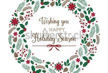 Christmas / Christmas Crafts, Christmas Illustration, Christmas Vector illustration, Christmas Decorating, Christmas Ideas, Christmas Decorations, Christmas DIY, Christmas Entertaining