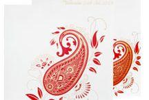 Indian Wedding Invitations / Exclusive Designer Indian Wedding Invitations