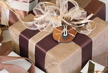 Perfect gift wrap / by Nancy Halinski