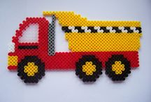 Hama beads and patterns..