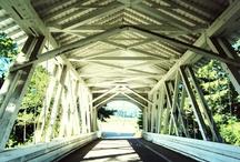 covered bridges / by Jamie Akers
