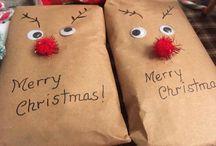 Envoltorios navidad diy