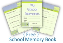 Memory Books / Free printable memory books