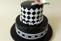 CAKES BLACK & WHITE 2 / by Ellen Graham