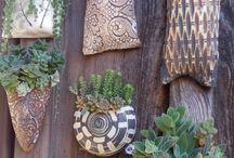 garden pottery ideas