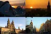 AMANECE EN APARCAMIENTO LAVACOLLA / Amaneceres que nos gustan en Aparcamiento Lavacolla. Aviones aeropuertos y nuestras sedes.