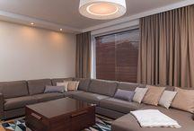 Záclony a závesy - Obývacie izby