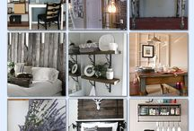Blog Makeover Challenge / If my blog were a place, it would be a...comfy, homey farmhouse. :)