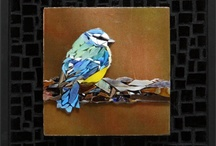 Mosaics - birds and other such things